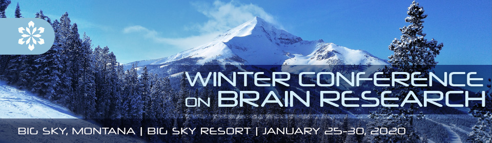 Winter Conference on Brain Research | Big Sky, Montana | Big Sky Resort | January 25-30, 2020