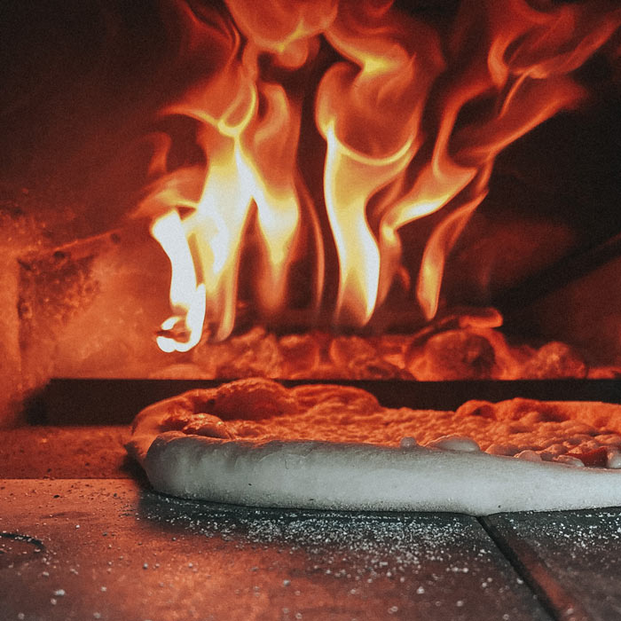Stone Fired Pizza Image